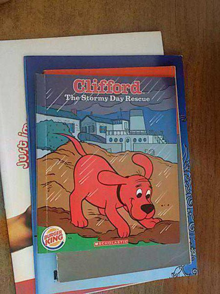Clifford The Stormy Day Rescue