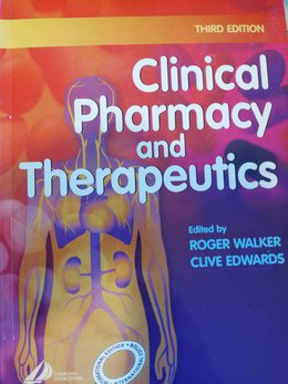 Clinical Pharmacy And Therapeutics - Roger Walker, Clive Edwards