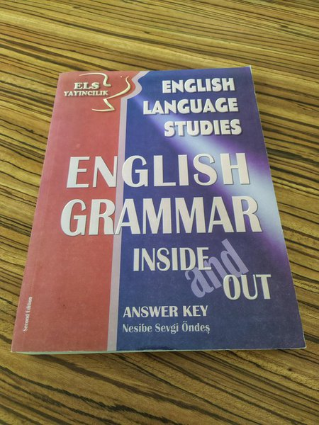 English Grammer İnside And Out
