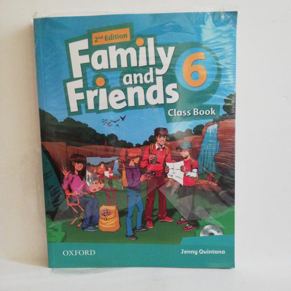 Family And Friends 6,class Book And Activity Book Cd Li