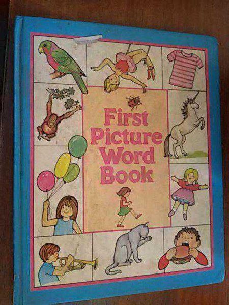 First Picture Word Book Angela Royston