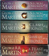 Game Of Thrones A Song Of Ice And Fıre - 5 Cilt Özel Kutusunda