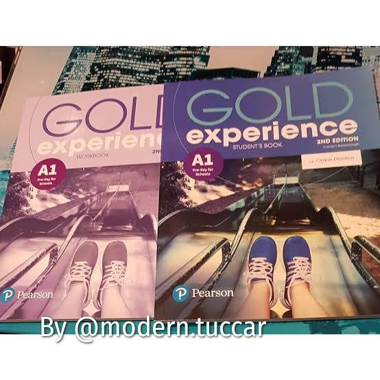 Gold Expreince Pearson