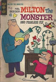 Gold Key Mılton The Monster And Fearless Fly #1 1966