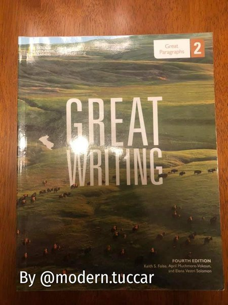 Great Writing National Geographic