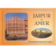 Jaipur & Amer 12 Colour Picture Post Cards
