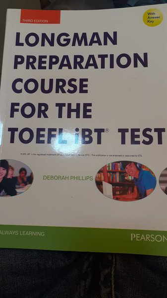 Longman Preparation Course For The Toefl Ibt Test With Answer Key 3rd Edition