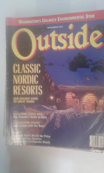 Outside December 1990 Classic Nordic Resorts*exploring Costa Rica*the Dolphin Debate