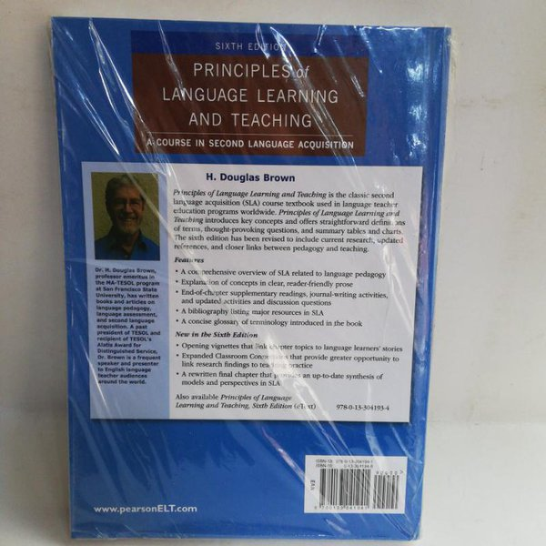 Principles Of Language Learning And Teaching Sixth Edition