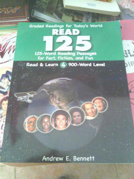 Read 125 Word Reading Passages For Fact,fiction,and Fun At The 900-word Level