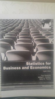 Statistics For Business And Economics ( 8th Edition)