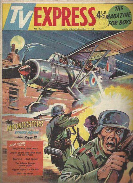 Tv Express Weekly And Rocket No: 371 - The Magazıne For Boys 1961