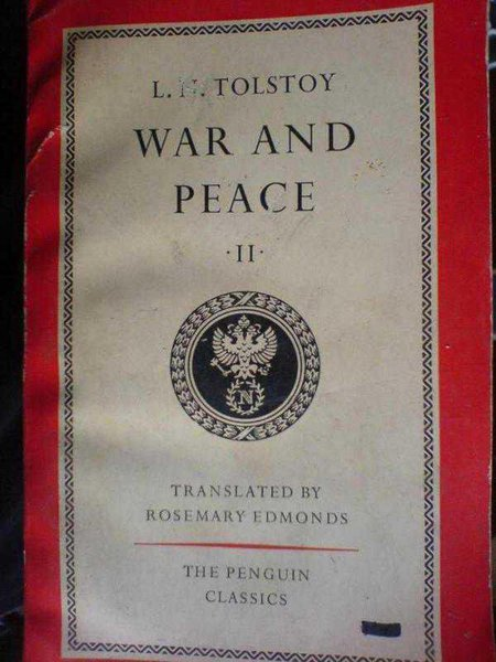 War And Peace-2 / Leo Tolstoy